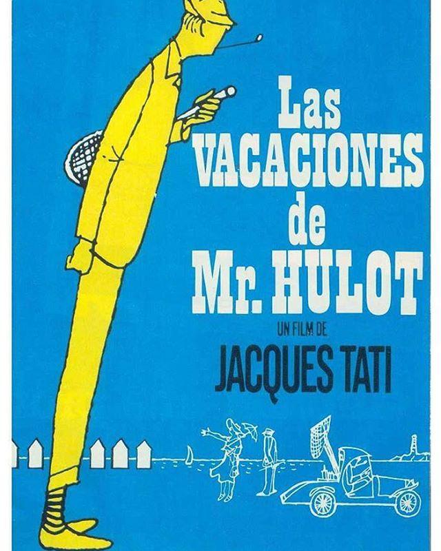 Las vacaciones del señor Hulot (1953, Jacques Tati)