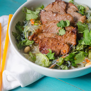 Vietnamese-Style Pork and Rice Noodle Salad