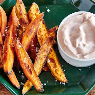 How To Make Crispy Baked Sweet Potato Fries.