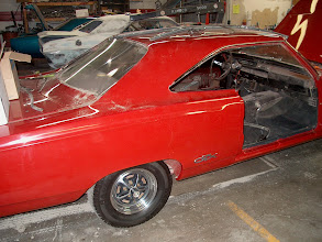 Photo: this is the first car when my web site appears, it is a 1968 Plymouth GTX 440 4spd dana red with black interior all numbers matching with broadcast sheet and documentation . the car was purchased and taken to another body shop and was told to paint the car really nice inside and out. heres the money call me when its done,