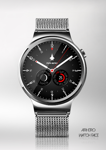 android Airhero Watch Face Screenshot 0