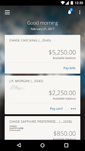 J.P. Morgan Mobile- screenshot thumbnail