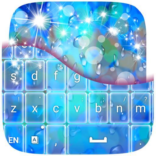 雨天主題鍵盤 個人化 App LOGO-硬是要APP