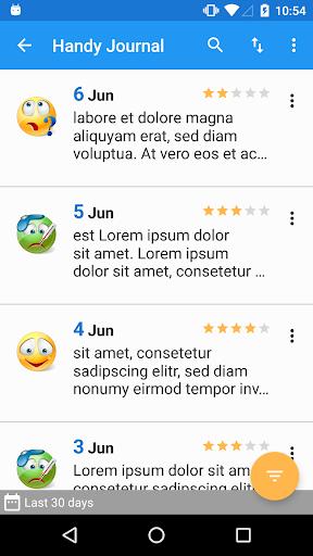 Journal with password screenshot 4