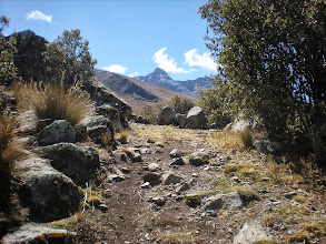 Photo: More shots along the path to the cross above our site/Lake Awak.