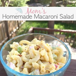 Homemade Macaroni Salad.