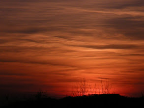 """Photo: This is the origimal capture of my last posted sunset. And it might very well be the last """"sunset form home"""" for a while too. Now we have rainy weather with lots of clouds. And by the time this has passed I expect the sun to be setting much more NW which is hidden by houses and hills."""