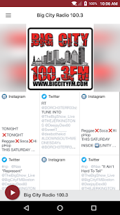 Big City Radio 100.3- screenshot thumbnail