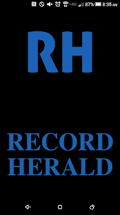 Record Herald- screenshot thumbnail
