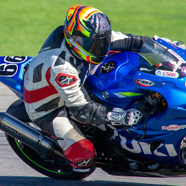 Turn that way! by Yves Sansoucy - Sports & Fitness Motorsports ( motorcycle, motorbike, motorsport, motor, turn, track, speed )