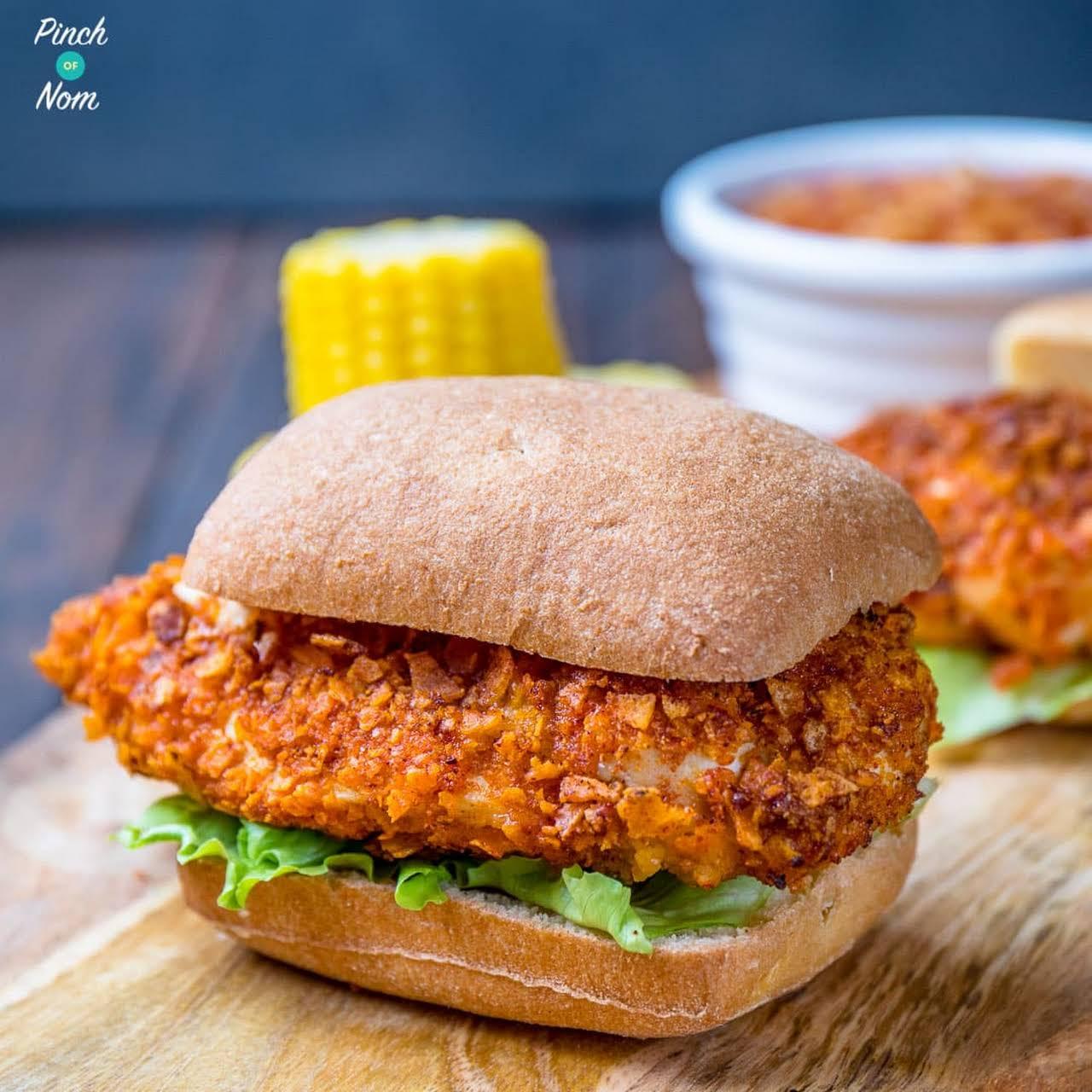 KFC Zinger Burger Fakeaway