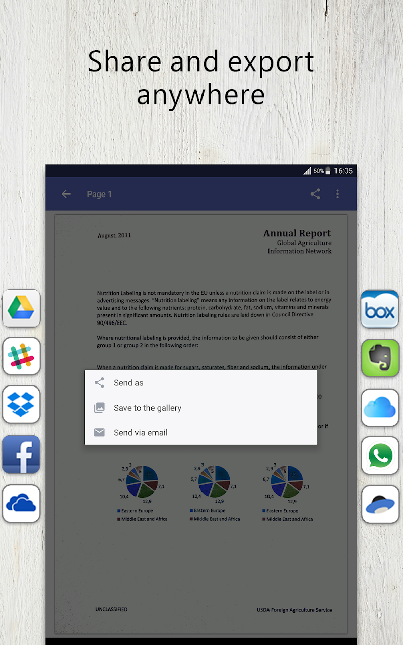 FineScanner Pro - PDF Document Scanner App + OCR Screenshot 14