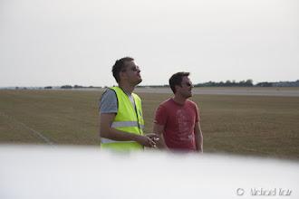 Photo: Anders og Ola ser frem til flyshow i morgen.