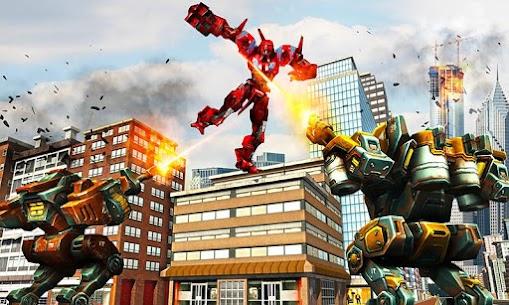 Robot Car War Transform Fight 5