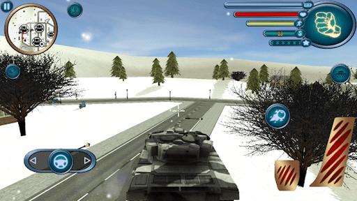 santa claus rope hero vice town fight simulator screenshot 2