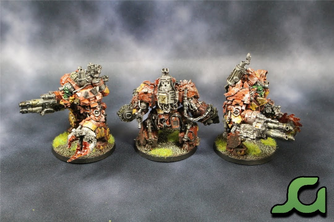 Mega Armoured Nobz Squad Grey