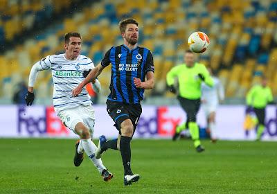 Suivez en DIRECT commenté la rencontre d'Europa League entre le Club de Bruges et Kiev