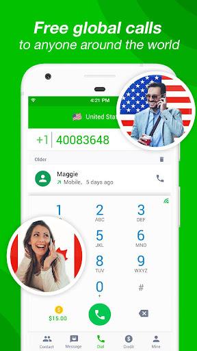Call Free u2013 Free Call 1.6.1 screenshots 1