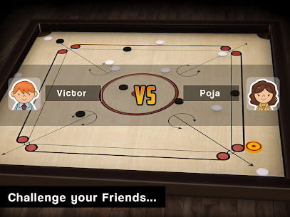 Carrom Multiplayer – 3D Carrom Board Game 1
