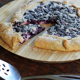 Blueberry Cheesecake Crostada