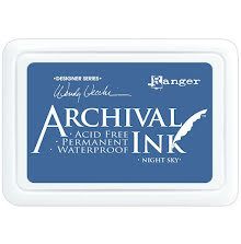 Ranger Archival Ink Pad - Night Sky