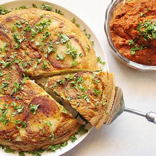 Vegetarian Spanish Tortilla Recipe