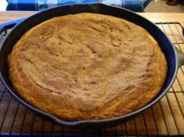 Skillet Snickerdoodle Cookie Recipe