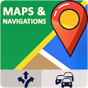 Gps Navigation, Voice Car Navigation & Traffic Map icon