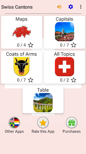 Swiss Cantons - Quiz about Switzerland's Geography apkpoly screenshots 3