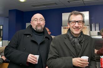 Photo: Yves Ramonet et Jacques Barbéri
