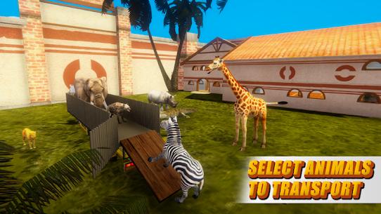 Zoo Animal Transport Truck 4