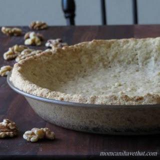 Low Carb Walnut Pie Crust