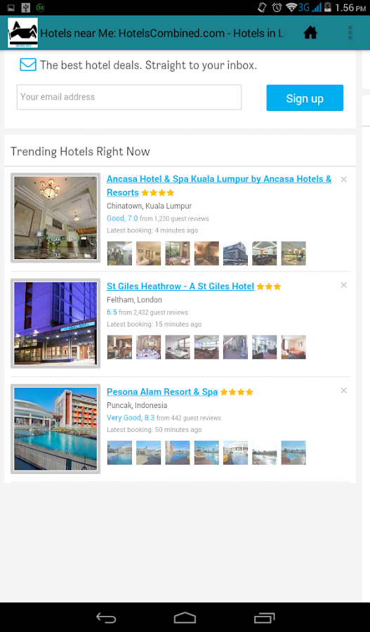 Cheap hotels near me android apps on google play for Small hotels near me