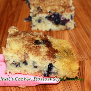 Semi Homemade Blueberry Cinnamon Bar.