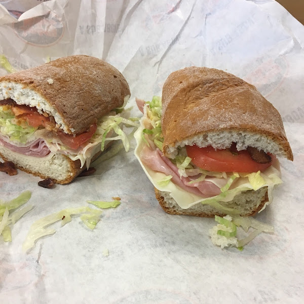 I was VERY impressed with how they handled an allergy but also my sandwich. Delish!!!