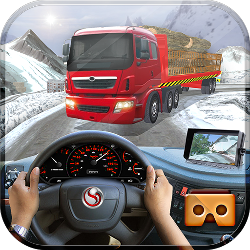 VR Uphill Extreme Truck Driver