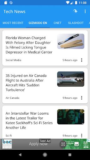 Tech News 1.9.1 Screenshots 4