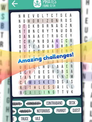 Word Search 2019: Word searching game for free screenshot 12