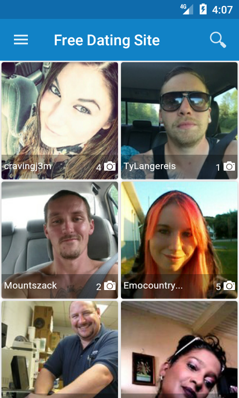 LuvFree Dating App- screenshot