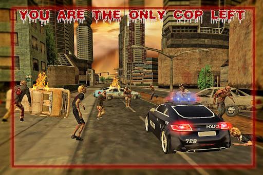 玩免費冒險APP|下載警察のドライバハロウィーンゾンビ app不用錢|硬是要APP