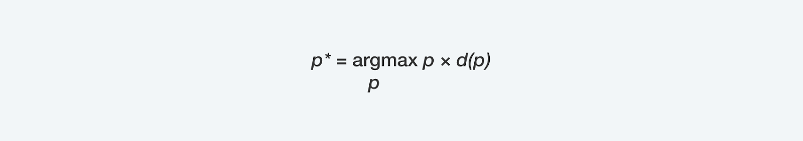 formula dynamic pricing algorithm