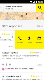 PagesJaunes – recherche locale- screenshot thumbnail
