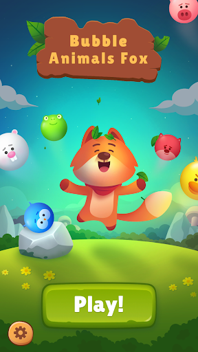 Bubble Animals Fox - Ultimate Bubble Shooter android2mod screenshots 1