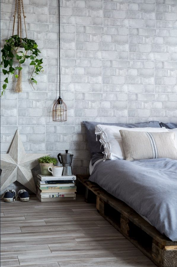 Cool Industrial Trend for A Minimalist Bedroom