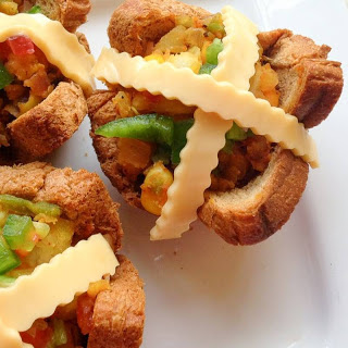 Baked Mini Bread Cups