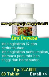zinc dewasa
