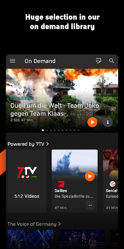 Zattoo - TV Streaming App  screenshots 7