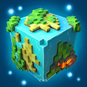 Planet of Cubes Craft Survival icon