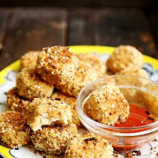 Breaded Vegan Cauliflower Nuggets