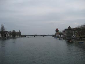 Photo: Seerhein, dahinter Bodensee